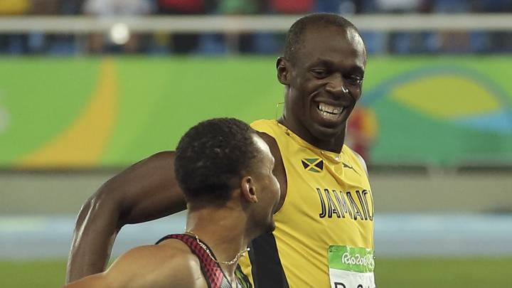 Usain Bolt becomes a father for the first time