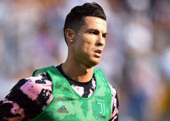 Cristiano returns for Juventus duty in Continassa
