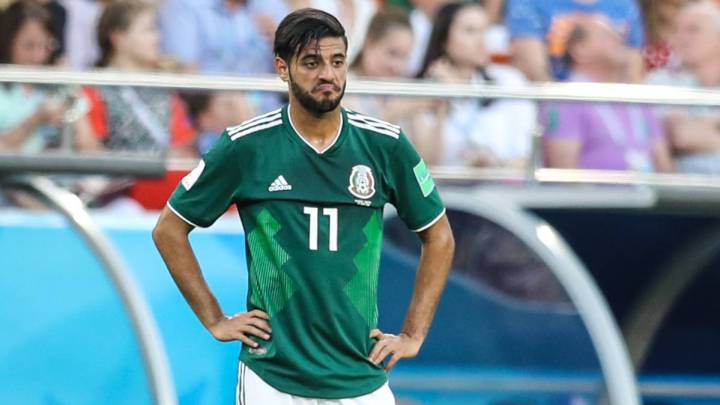 Carlos Vela donates shirt from his last game with Mexico to charity