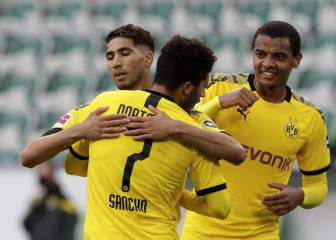 Dortmund see off Wolfsburg to set up title-deciding Klassiker
