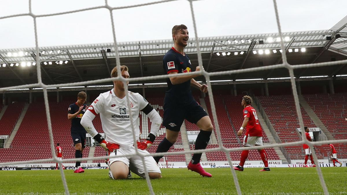RB Leipzig star Timo Werner achieves Bundesliga scoring feat for first time in 21 years
