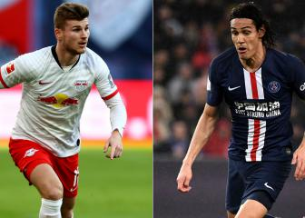 Inter financial backer talks up move for Werner and Cavani