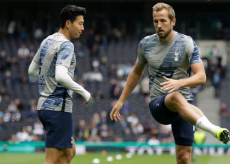 Tottenham trio Kane, Son and Bergwijn all back to full fitness