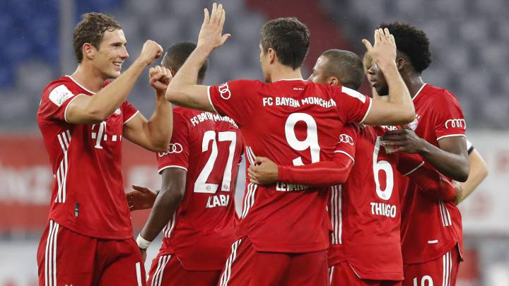 Bayern Munich on brink of Bundesliga title as they aim for treble glory