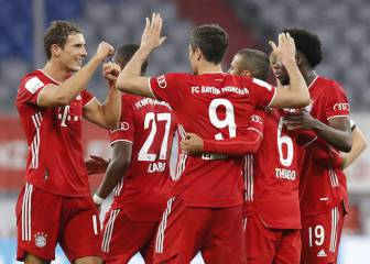Bayern on brink of Bundesliga title as they aim for treble glory