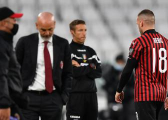 Milan angry after VAR used for Ronaldo but not for Rebic red