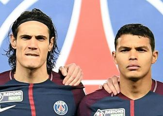 Thiago Silva and Edinson Cavani to leave PSG