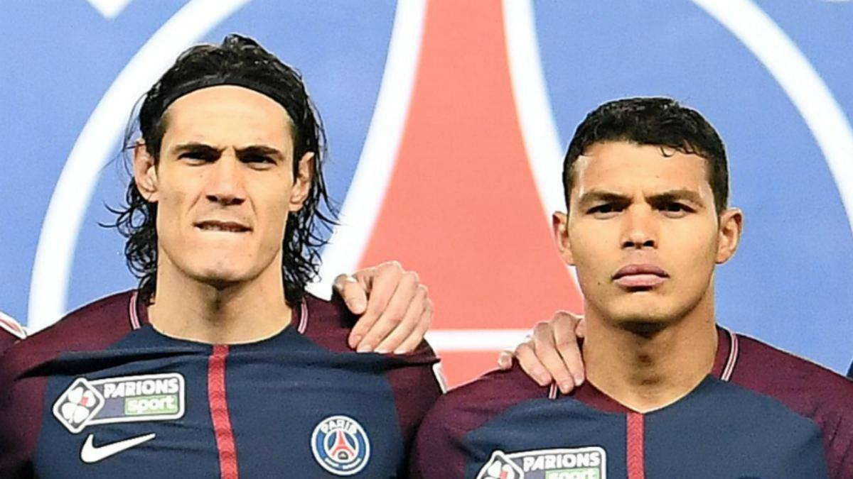 PSG greats Thiago Silva and Edinson Cavani to leave Ligue 1 champions