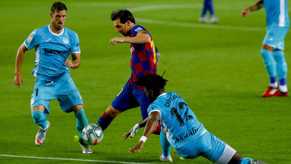 Barcelona vs Leganés live online: LaLiga Santander - AS.com