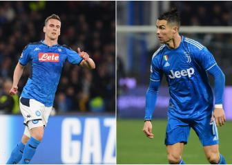Milik would be the ideal striker partner for Cristiano Ronaldo