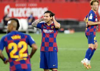 Frustration for Barcelona after goalless draw against Sevilla