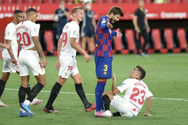Barcelona Player Ratings After Stalemate In Sevilla As Com