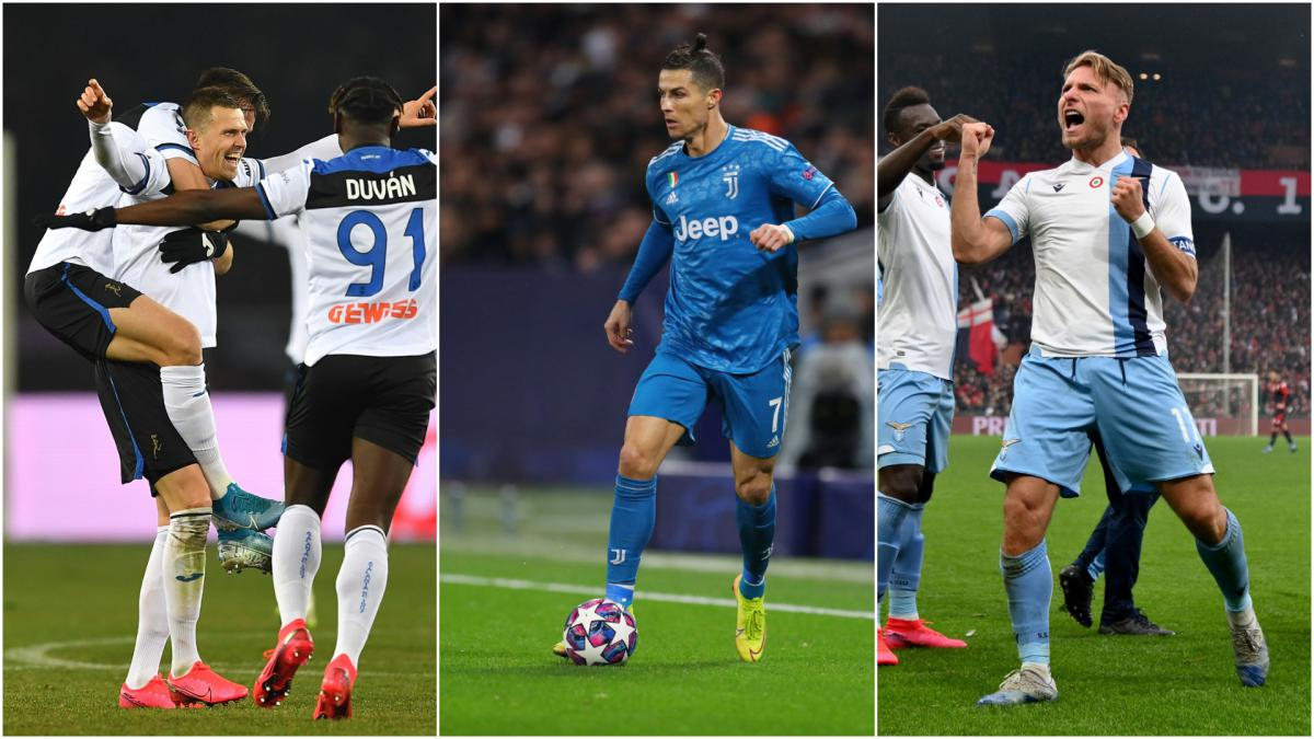 Serie A is back: Ronaldo's goals, Lazio's unbeaten run - the best stats from the season so far