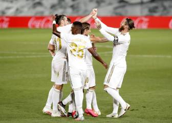 Strikes from Vinicius and Ramos see Madrid regain top spot