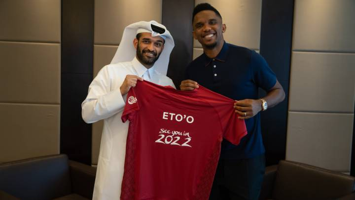 """Cristiano and Messi belong to another planet"" - Samuel Eto'o"