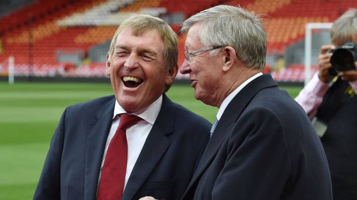 Sir Alex Ferguson congratulates old rival Kenny Dalglish for Liverpool's title win