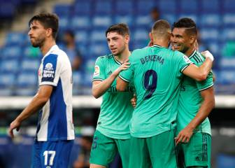 Casemiro strike enough to see Madrid past Espanyol