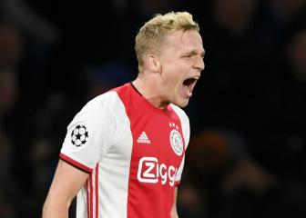 Ajax accept Van de Beek could leave, resigned to losing Tagliafico