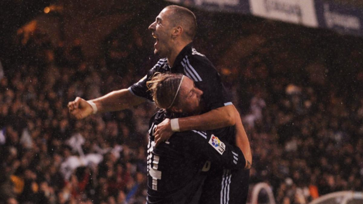 Guti applauds Benzema after 'brutal' backheel assist