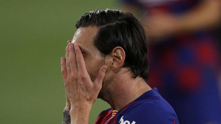 Setién denies Messi rift
