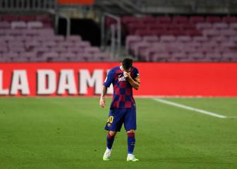 Barcelona drop points again as Messi reaches new milestone