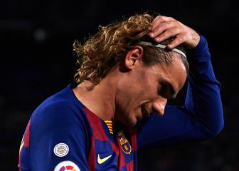 Simeone speechless after Griezmann's brief Barça cameo