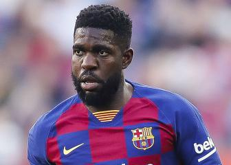 Barcelona defender Umtiti suffers fresh injury setback