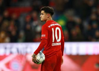 Sané takes Coutinho's number 10 shirt at Bayern