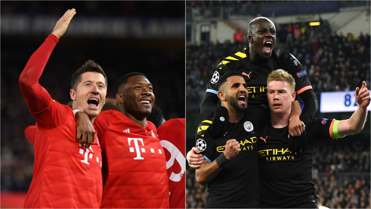 Bayern and Man City clear Champions League favourites, says Klopp
