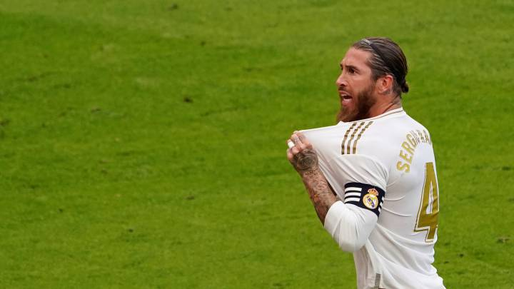 """Real Madrid's Sergio Ramos: """"The only thing I think about are the three points"""" - AS.com"""