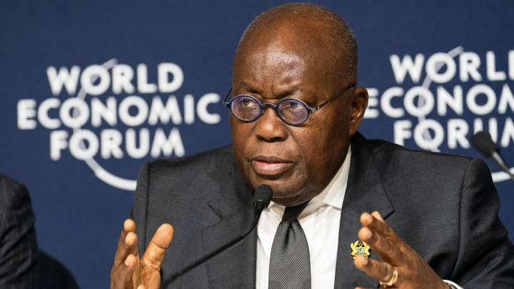 Ghana's president goes into a two-weeks self-isolation
