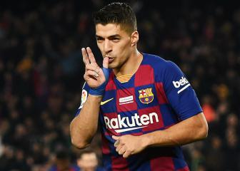 Luis Suárez moves third on Barça's all-time scoring list