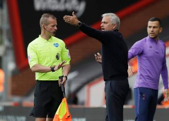 Mourinho rages at officials as Spurs suffer more VAR misery