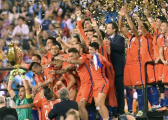 Pizzi: 2016 Copa América win with Chile