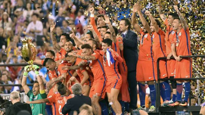 "Pizzi: 2016 Copa América win with Chile ""a wonderful moment"""