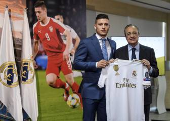 Real Madrid to listen to offers for Luka Jovic