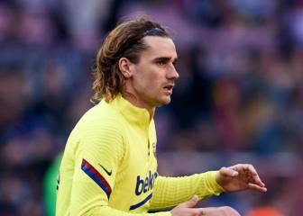 Griezmann sidelined with thigh injury