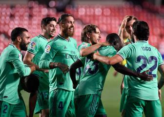 Madrid two points from title after surviving Granada test