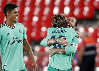 Ramos rues Madrid's second-half display in Granada