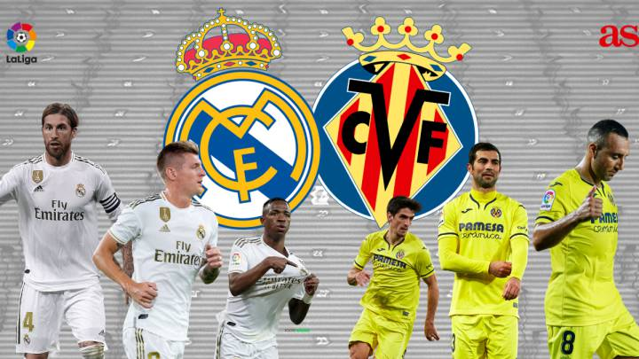 Real Madrid vs Villarreal: how and where to watch - times, TV ...