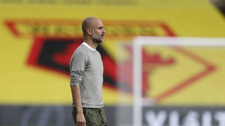Pep Guardiola with €330 million City summer signing budget