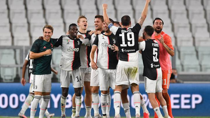 Juventus secure ninth Serie A title in a row with Sampdoria win