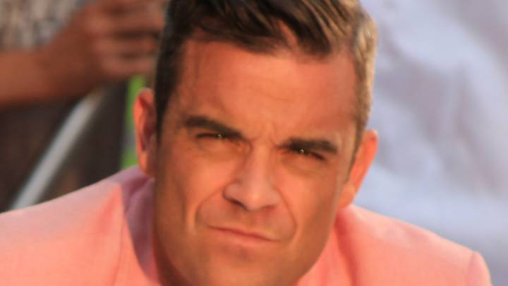 Real Madrid make ex-Take That's Robbie Williams feel small