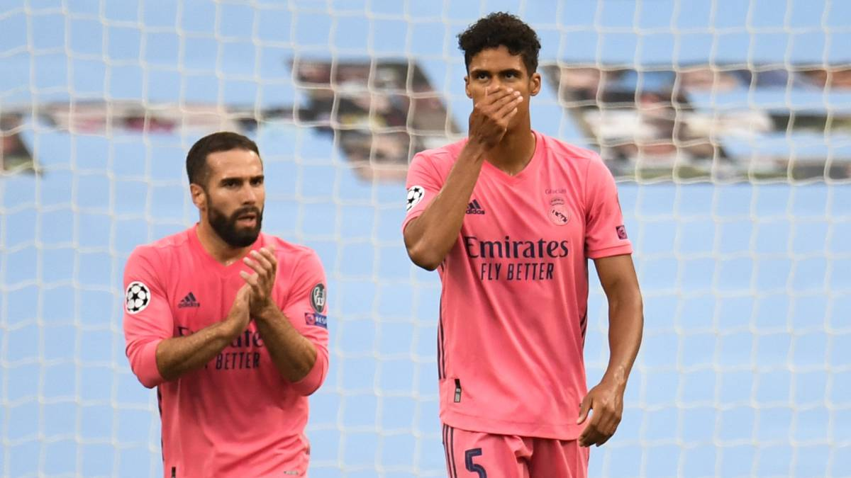 Manchester City Real Madrid Varane s Errors Open The Door For City AS com