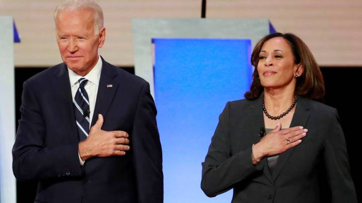 Did Kamala Harris call Joe Biden racist as Trump campaign claims?