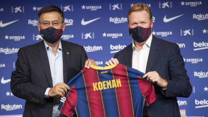 "New Barcelona coach Koeman: ""I want to know what Messi thinks, I hope he stays"""