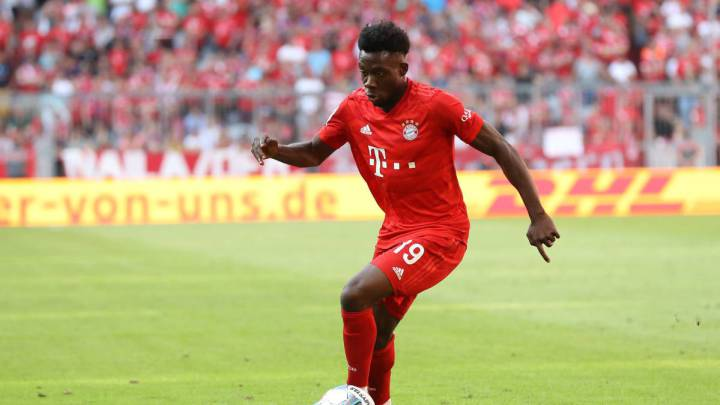"Bayern Munich: ""Alphonso Davies is faster than Mbappé"" - Coman"