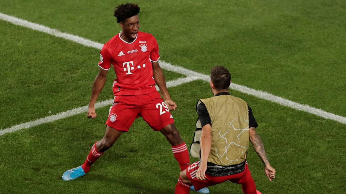 Coman Feels The Noise As Bayern See Off Psg To Claim Champions League Title As Com