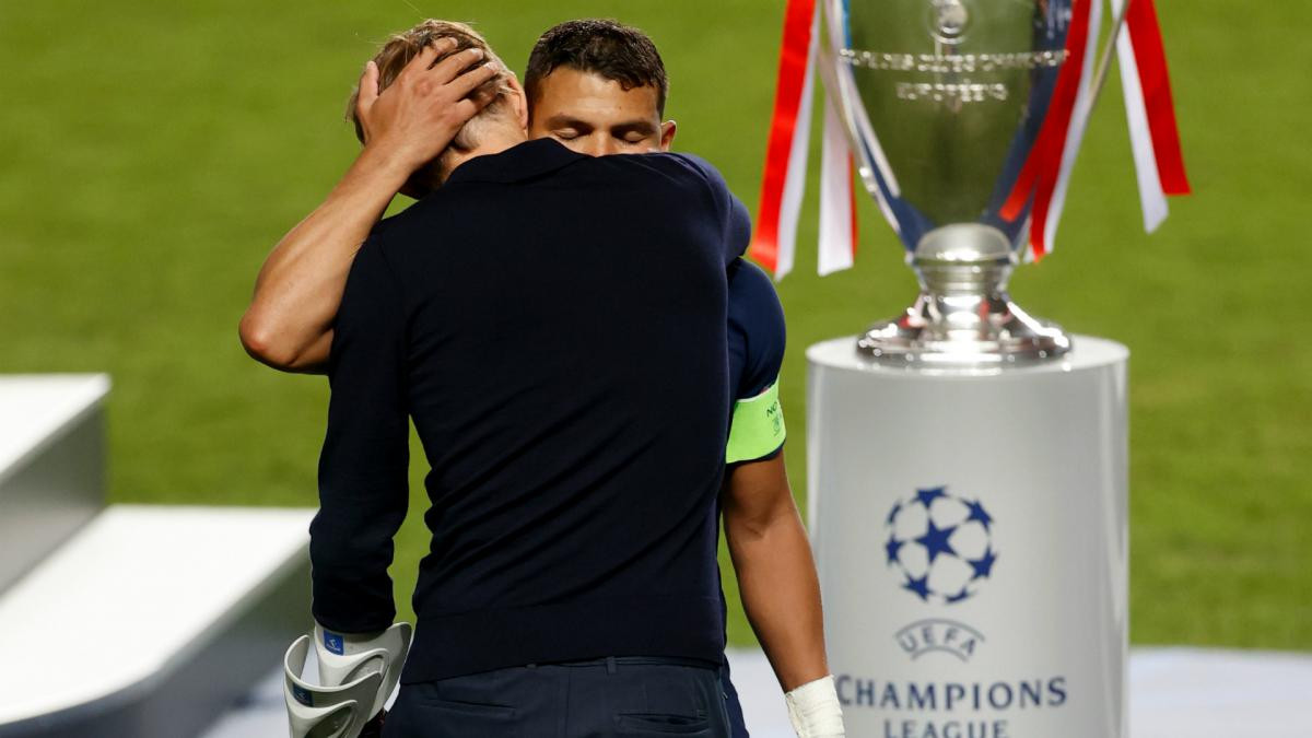 Thiago Silva confirms PSG exit after Champions League loss amid Chelsea links