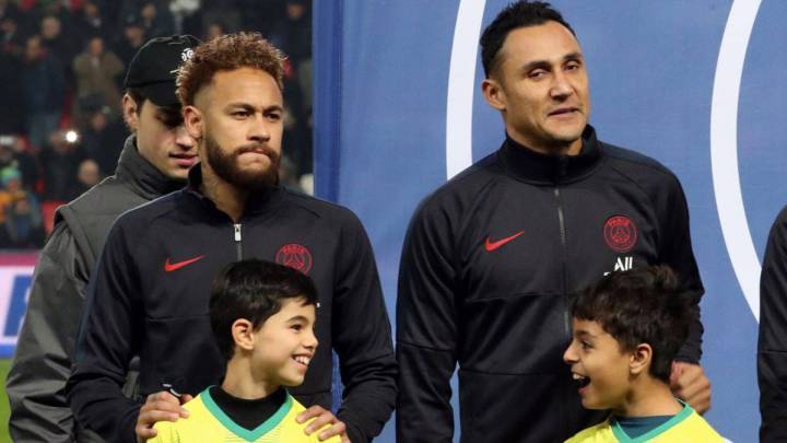 PSG fear Neymar and Keylor Navas have coronavirus